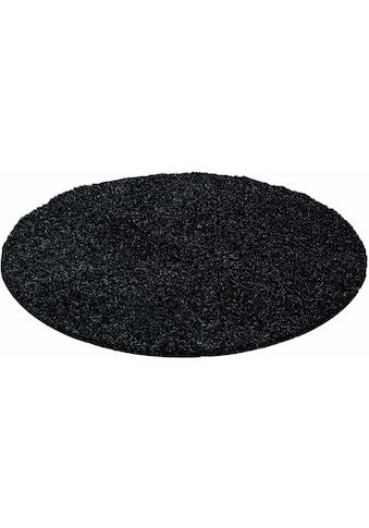 Hochflor - Teppich, »Life Shaggy 1500«, Ayyildiz, rund, Höhe 30 mm kaufen