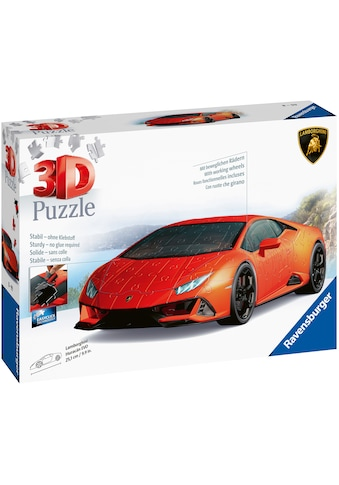 Ravensburger 3D-Puzzle »Lamborghini Huracan Evo«, mit drehbaren Rädern; Made in... kaufen
