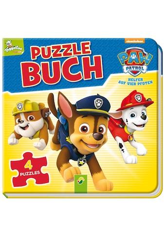 Buch PAW Patrol Puzzlebuch / Katharina Bensch kaufen