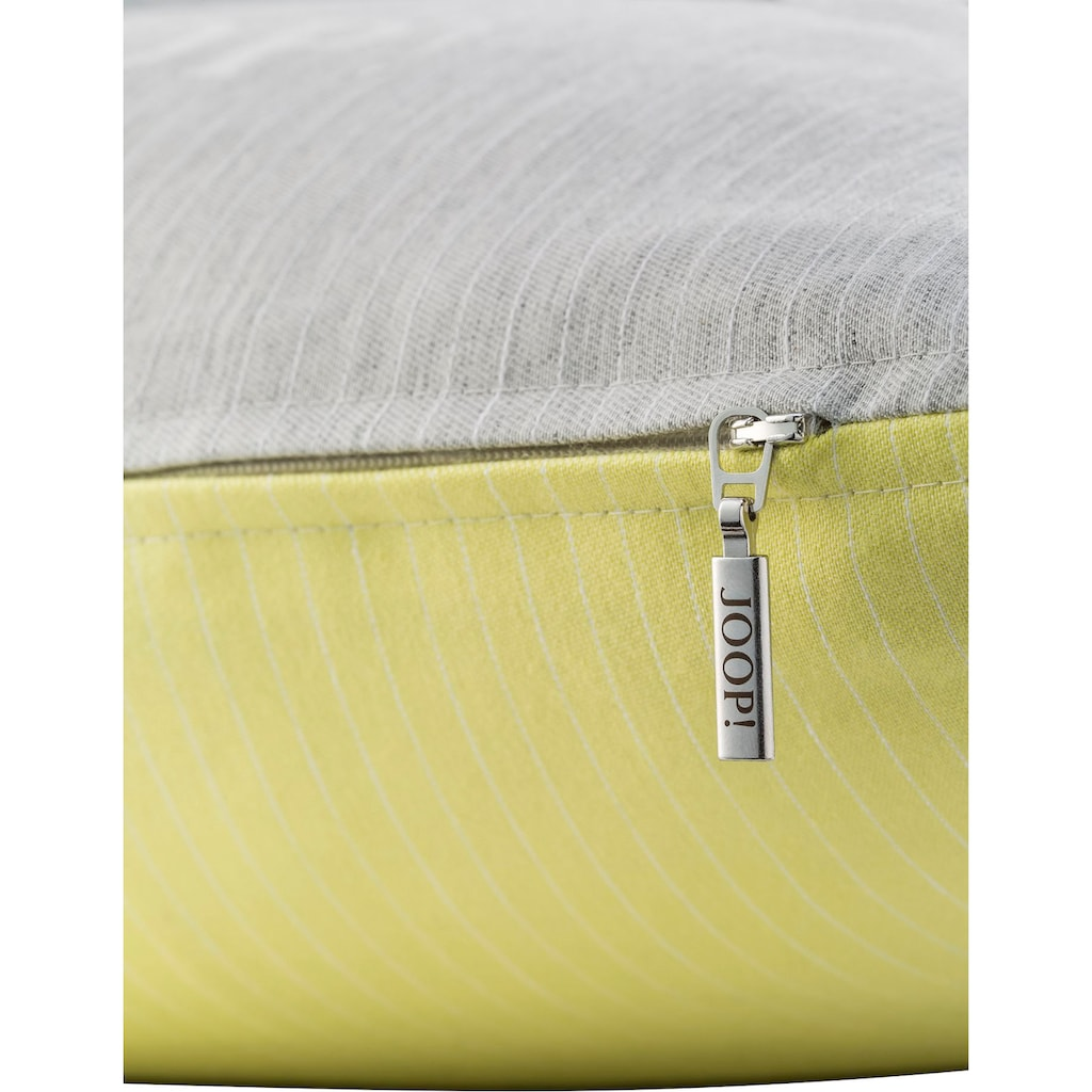 Joop! Kissenhülle »PINSTRIPE«, In edlem Nadelstreifen-Design