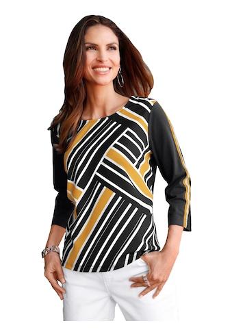 Classic Inspirationen Shirt vorne in edlem, fließendem Matt - Satin kaufen