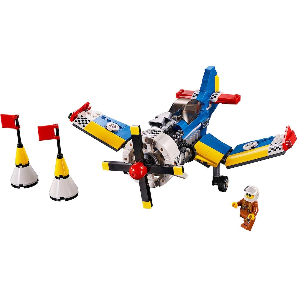 """LEGO® Konstruktionsspielsteine """"Rennflugzeug (31094), LEGO® Creator"""", Kunststoff, (333-tlg.)"""