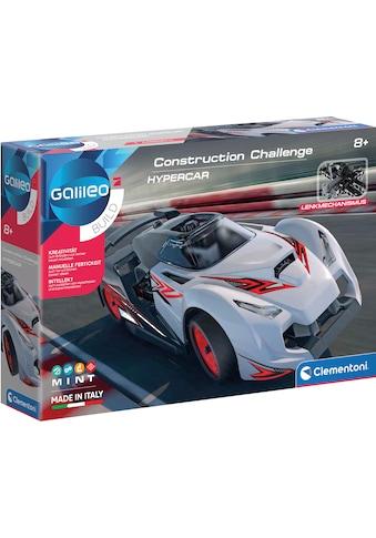 Clementoni® Experimentierkasten »Galileo Construction Challange Hypercar«, Made in Europe kaufen