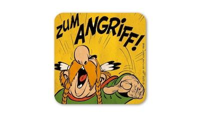 LOGOSHIRT Untersetzer mit lustigem Asterix - Motiv kaufen