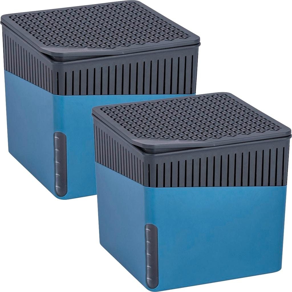 WENKO Luftentfeuchter »Cube Grau«, für 80 m³ Räume
