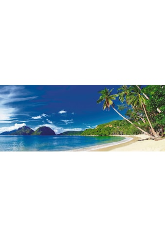 Home affaire Glasbild »Strand und Meer«, 125/50 cm kaufen