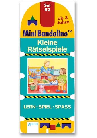 Buch »Mini Bandolino / Kleine Rätselspiele / Christine Morton, Jo Moore« kaufen