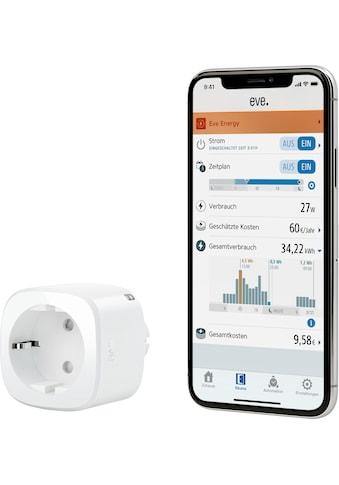 EVE Zwischenstecker »Energy Smarte Steckdose mit Verbrauchsmessung« kaufen