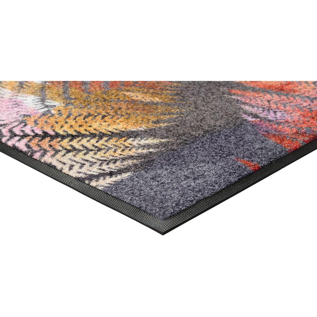 wash+dry by Kleen-Tex Teppich »Erbario«, rechteckig, 7 mm Höhe, In- und Outdoor geeignet, waschbar, Wohnzimmer