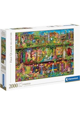 Clementoni® Puzzle »High Quality Collection - Das Garten-Regal«, Made in Europe, FSC®... kaufen
