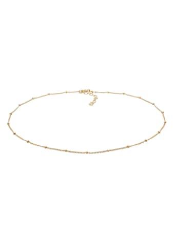 Elli Collierkettchen »Choker Kugelkette Basic Trend 925 Silber« kaufen