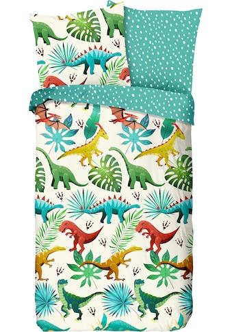 Kinderbettwäsche »Dinos«, good morning kaufen