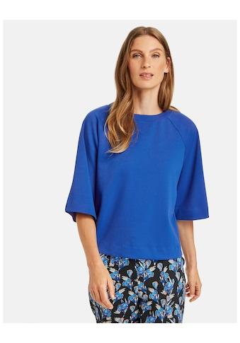 GERRY WEBER 3/4 - Arm - Shirt »3/4 Arm Shirt mit Dekozip« kaufen