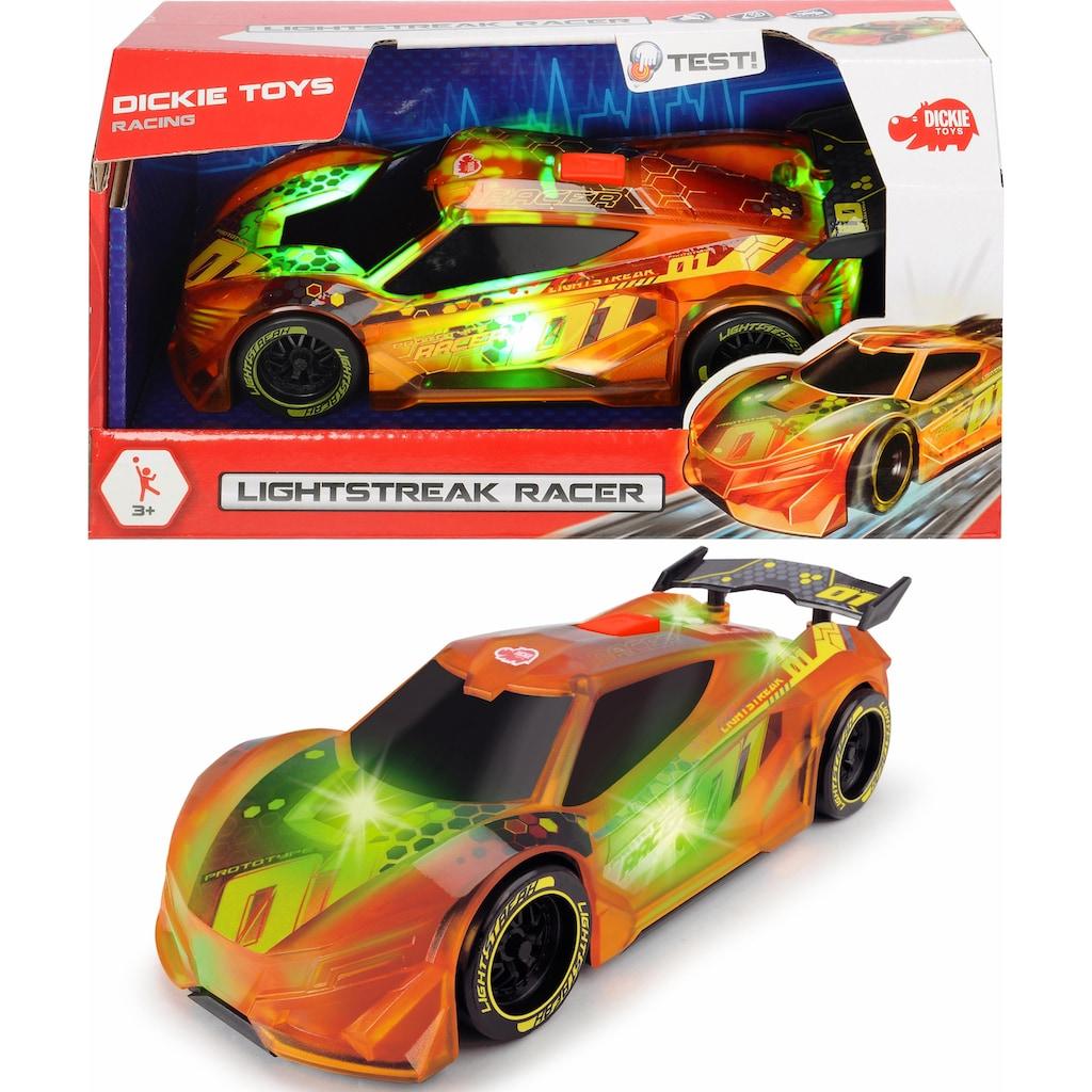 Dickie Toys Spielzeug-Auto »Lightstreak Racer«, mit Licht und Sound