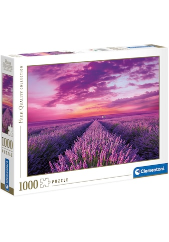 Clementoni® Puzzle »High Quality Collection - Lavendel-Feld«, Made in Europe, FSC® -... kaufen