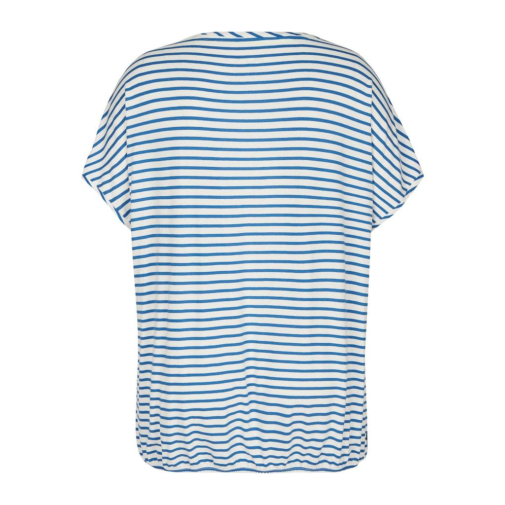 VIA APPIA DUE Flippiges T-Shirt mit Mustermix