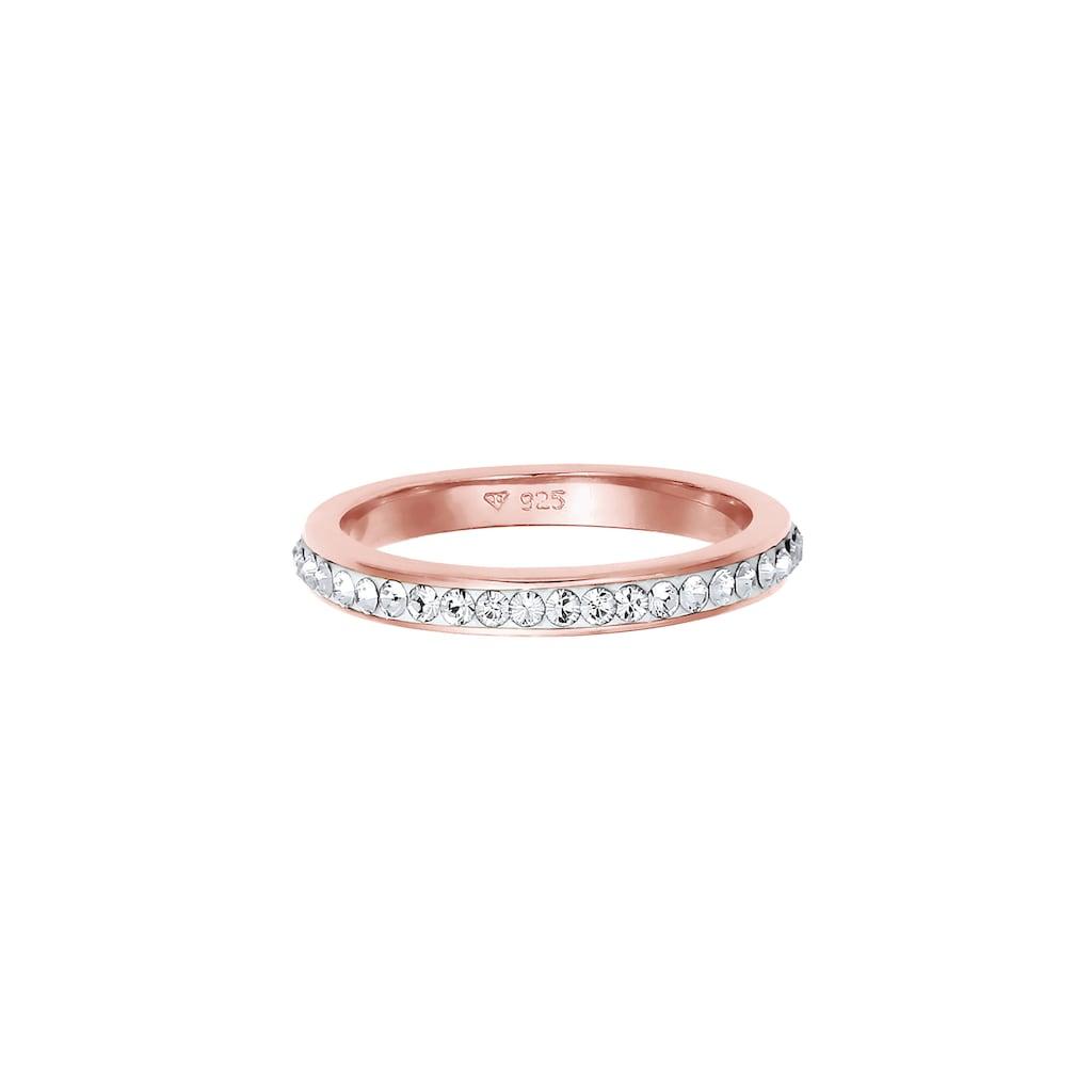 Elli Fingerring »Kristallen Memoire Ring 925 Silber«