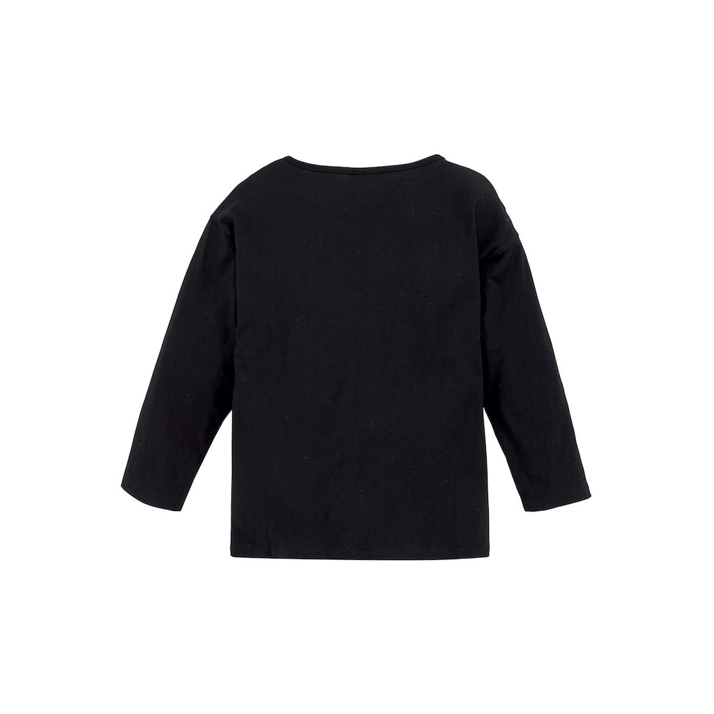 Arizona 3/4-Arm-Shirt »CHILLIN«, Ärmel in Fledermausoptik