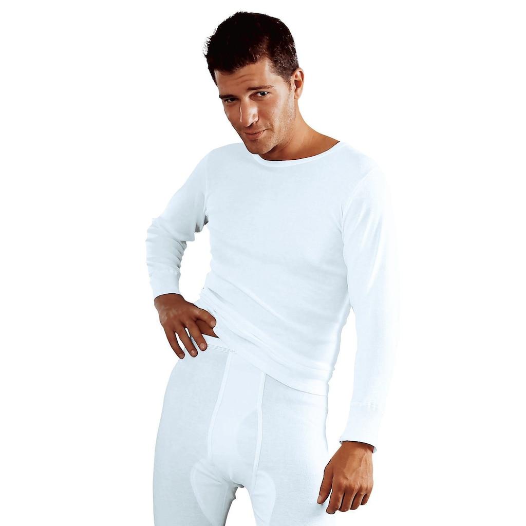 Clipper Unterhemd, (2 St.), schlichtes Basic für jeden Tag - in Feinripp