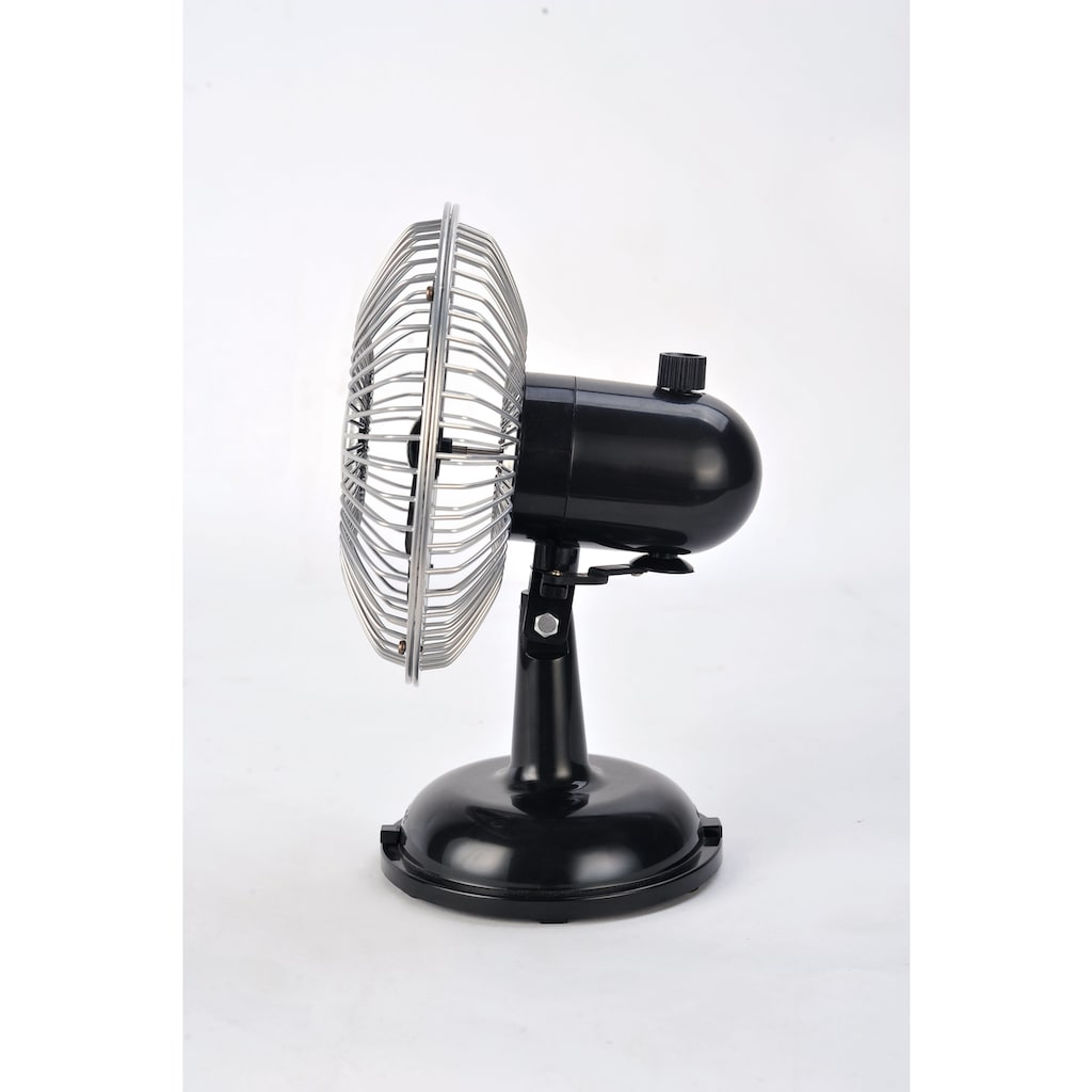 Sonnenkönig Tischventilator »Retro Fan schwarz«