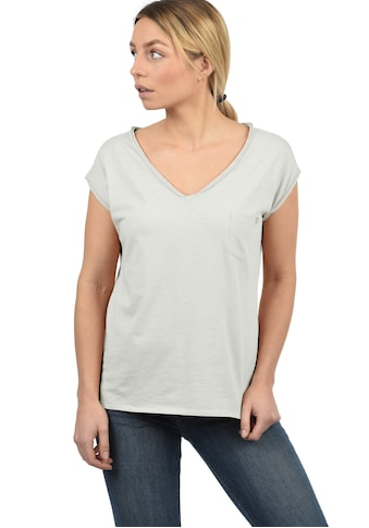 DESIRES T-Shirt »Lynn«, Kurzarmshirt mit Rollkante kaufen