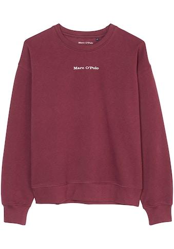 Marc O'Polo Junior Sweatshirt, mit Logoschriftzug kaufen
