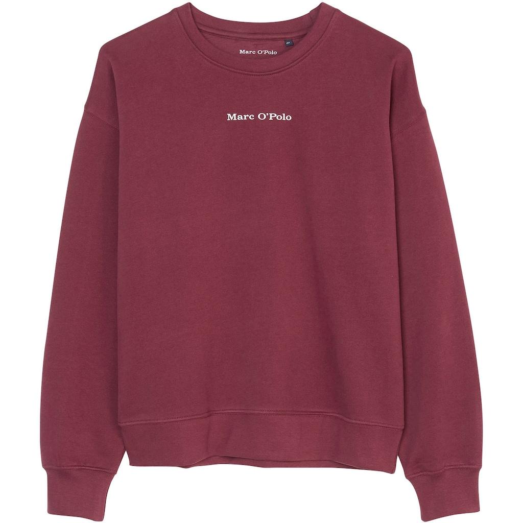 Marc O'Polo Junior Sweatshirt, mit Logoschriftzug