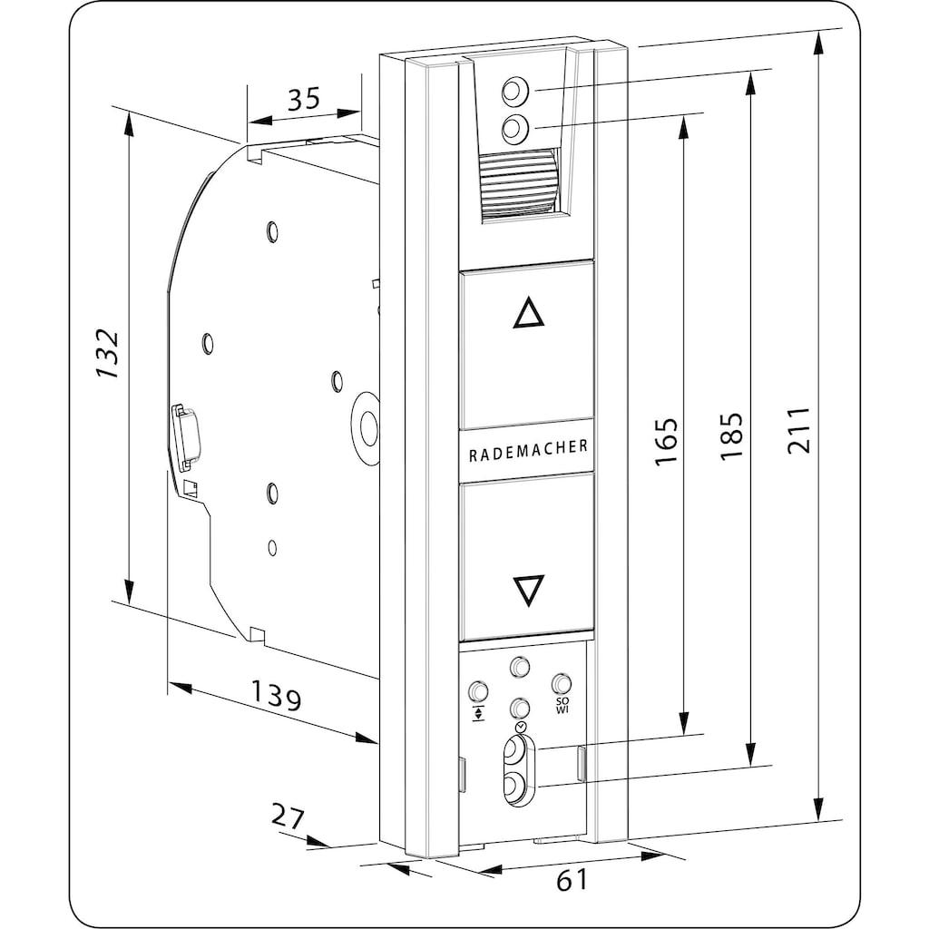 Rademacher Rollladenmotor »RolloTron 1100-UW«