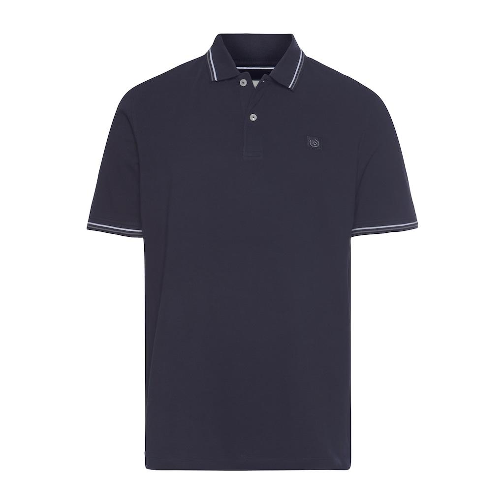 bugatti Poloshirt, mit Kontraststreifen