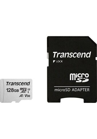 Transcend »microSDXC/SDHC 300S mit Adapter« Speicherkarte (Lesegeschwindigkeit maximal 95 MB/s) kaufen