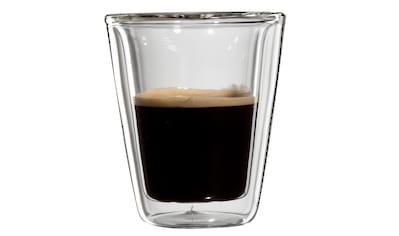 Bloomix Espressoglas »Milano«, (Set, 4 tlg.), Doppelwandig, 4-teilig kaufen