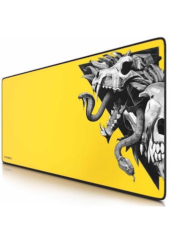 Titanwolf XXL Gaming Mauspad mit 900 x 400mm »Mousepad  -  verbessert Präzision & Geschwindigkeit« kaufen