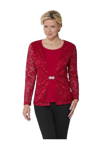 Lady Shirt in modischer 2 - in - 1 - Optik kaufen