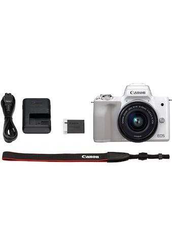 Canon Systemkamera »EOS-M50 EF-M15-45 Kit«, EF-M 15-45, NFC-WLAN (Wi-Fi)-Bluetooth, +... kaufen