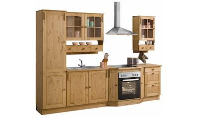 Home affaire Küchen - Set »Sylt«, ohne E - Geräte, Stellbreite 300 cm kaufen