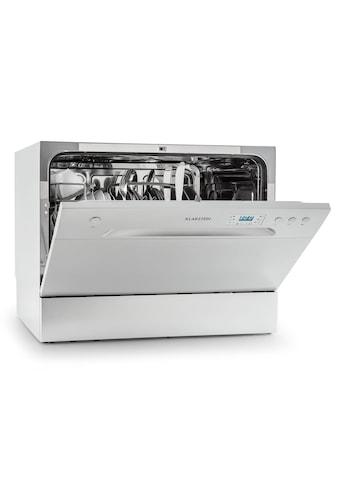 Klarstein Tischgeschirrspülmaschine 1380W 6 Maßgedecke »Amazonia - 6 - « kaufen