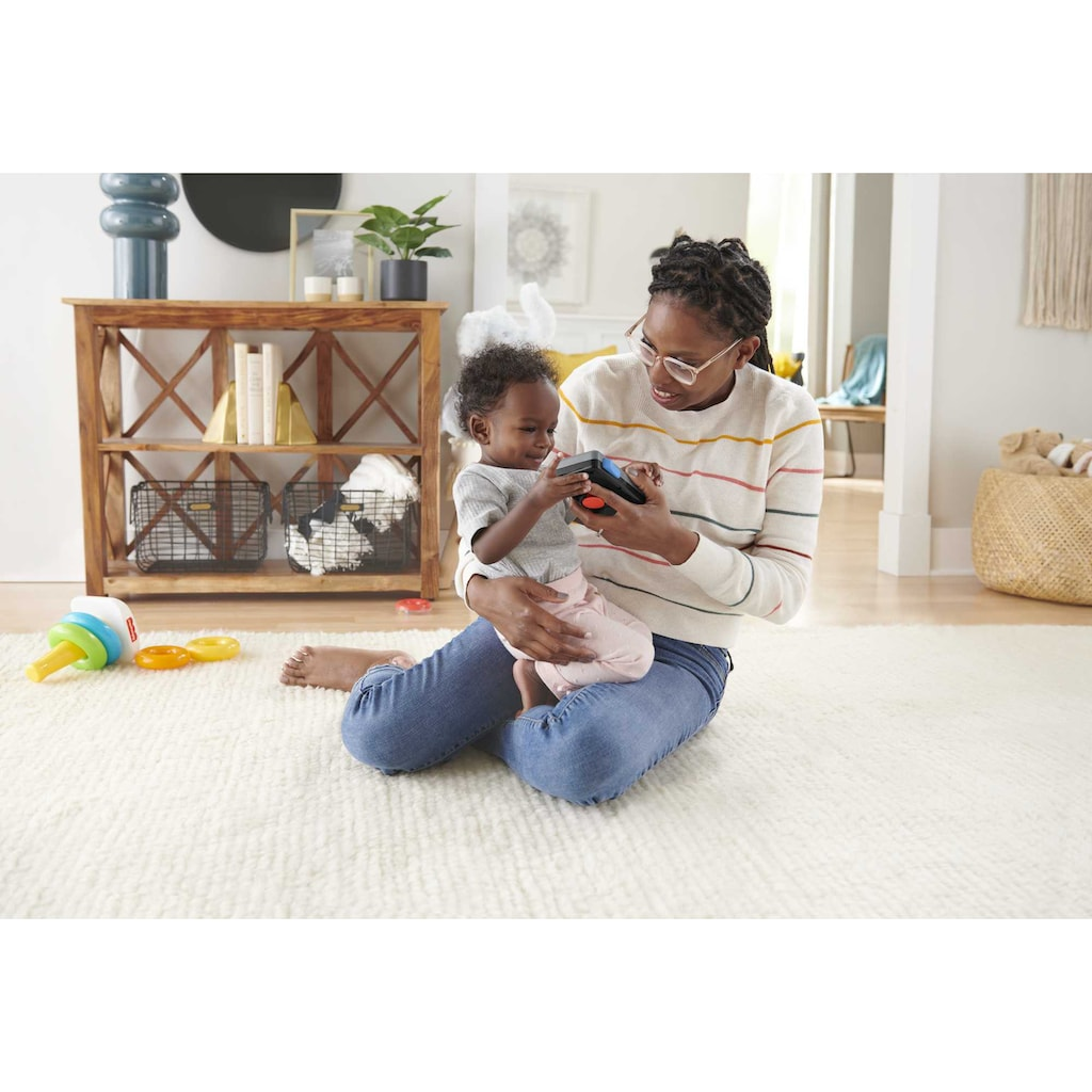 Fisher-Price® Greifspielzeug »Rollenspiel Motorik-Spielzeug Geschenkset«, mit Licht und Sound