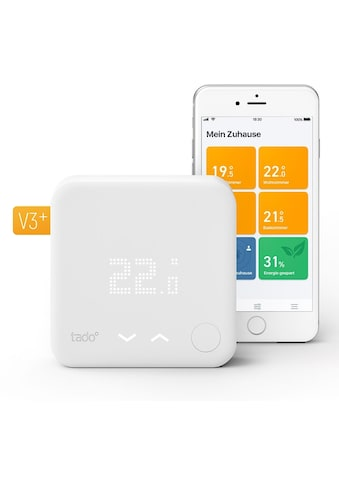 Tado Smartes Heizkörperthermostat »Smart Thermostat - Starter Kit V3+ inkl. 1 Bridge«,... kaufen