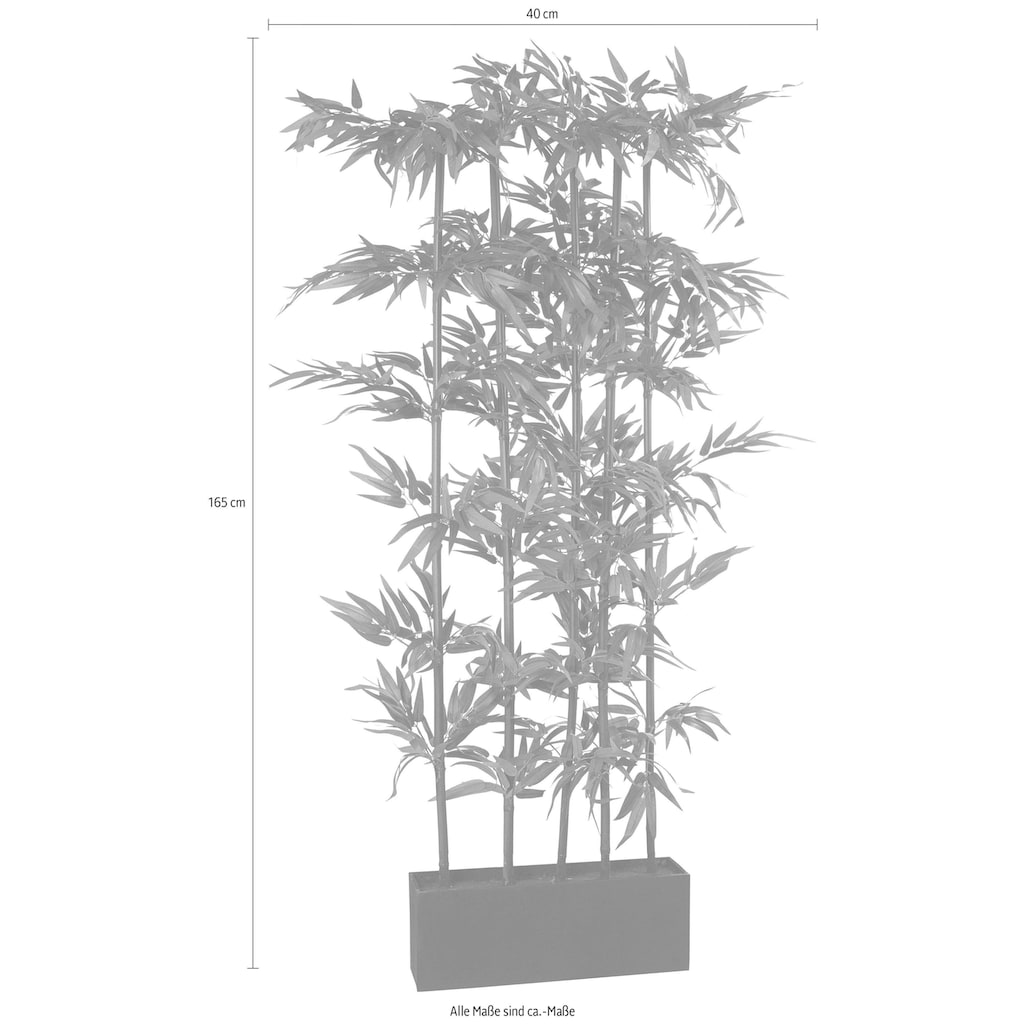 Creativ green Kunstpflanze »Bambus«