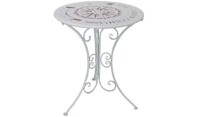 GARDEN PLEASURE Tisch »Bayo«, Stahl, Ø 60 cm kaufen