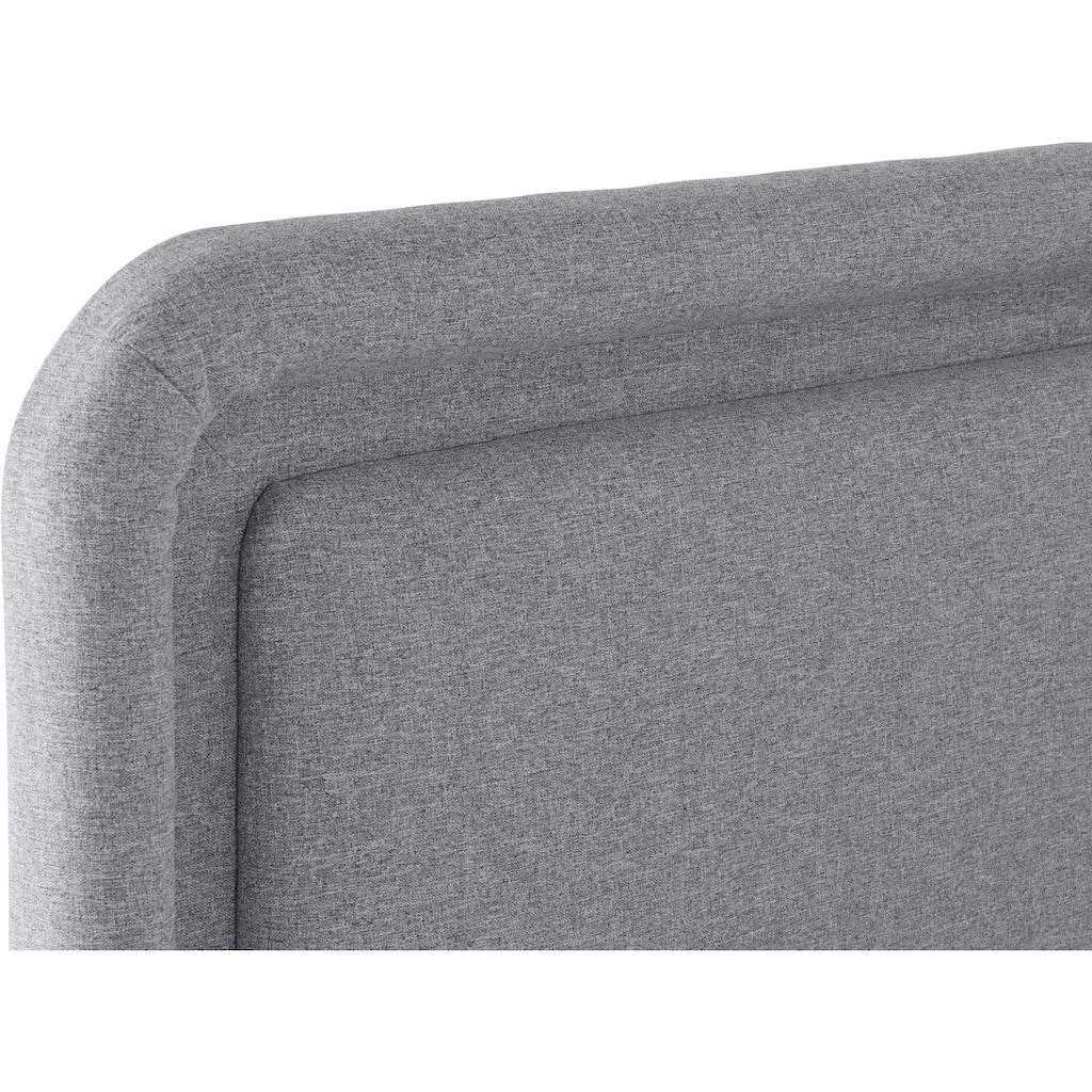 elbgestoeber Boxspringbett »Elbbox«, wahlweise mit 7-Zonen-Taschenfederkern oder Bonellfederkernmatratze. Mit Topper. 2 Härtegrade.