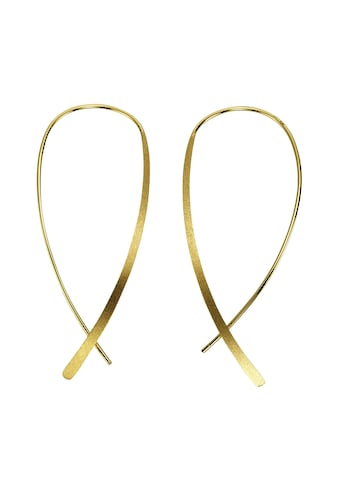 CELESTA Paar Ohrhänger »925/- Sterling Silber gelbvergoldet«, Ohrhänger kaufen