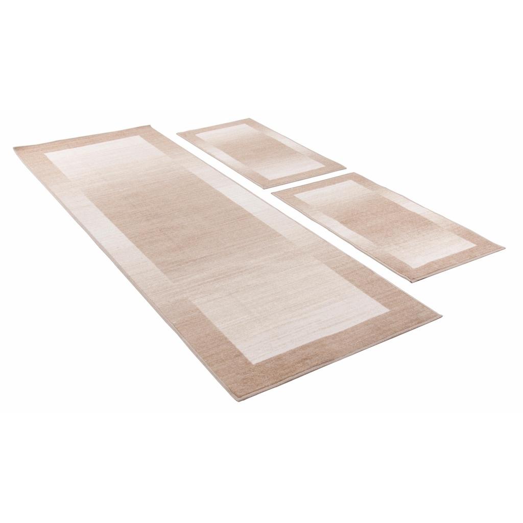 THEKO Bettumrandung »Gabbeh Ideal«, Bettvorleger, Läufer-Set für das Schlafzimmer, mit Bordüre