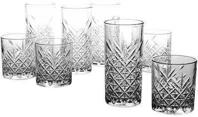 CreaTable Gläser-Set »TIMELESS«, (Set, 8 tlg.), edler Schliff kaufen