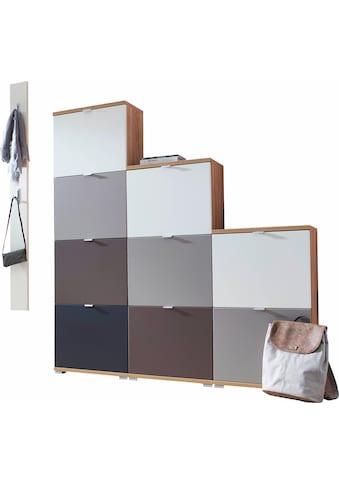 GERMANIA Garderoben-Set »Colorado«, (Set, 13 St.), Schuhklapper und Paneel im Set kaufen