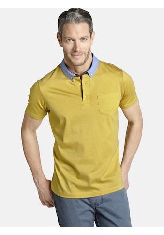 Charles Colby Poloshirt »ECTOR«, Button-Down-Kragen Chambray kaufen
