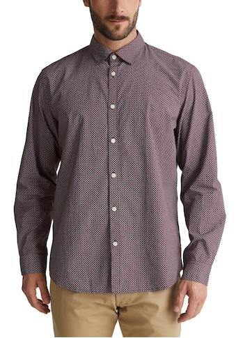 Esprit Langarmhemd, mit feinem Muster kaufen