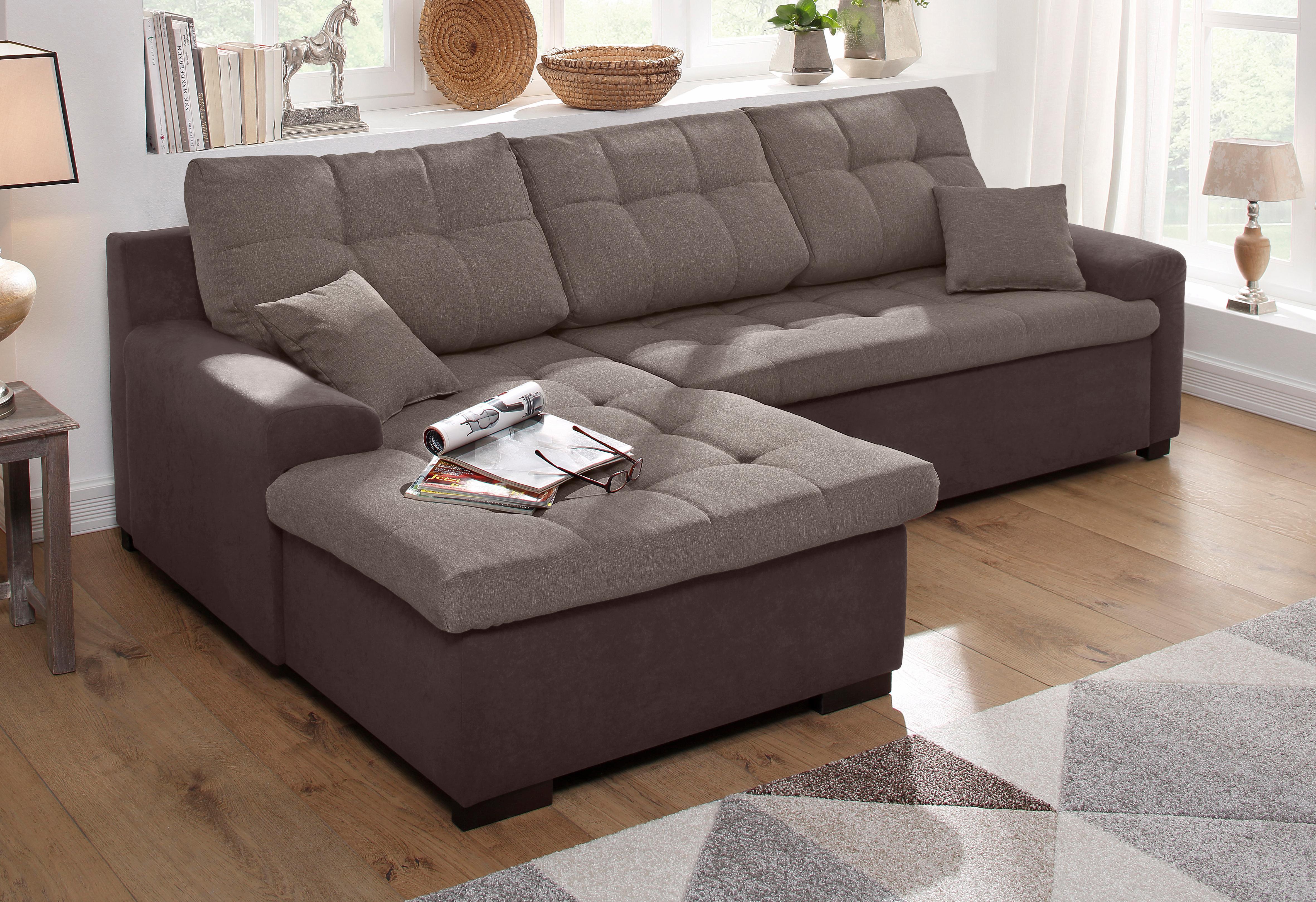 home affaire ecksofa f hr bequem auf rechnung kaufen. Black Bedroom Furniture Sets. Home Design Ideas