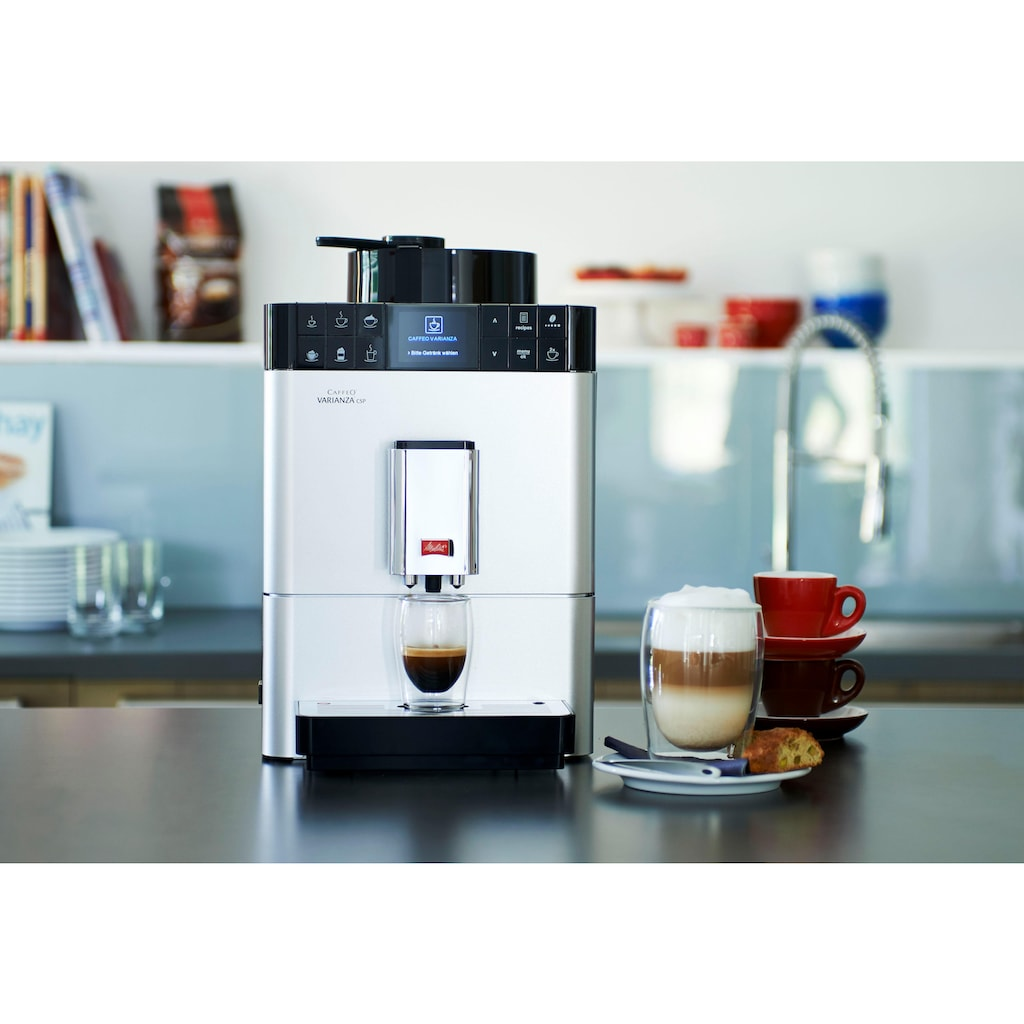 Melitta Kaffeevollautomat »CAFFEO® Varianza® CSP F57/0-101«, mit integriertem Milchtank
