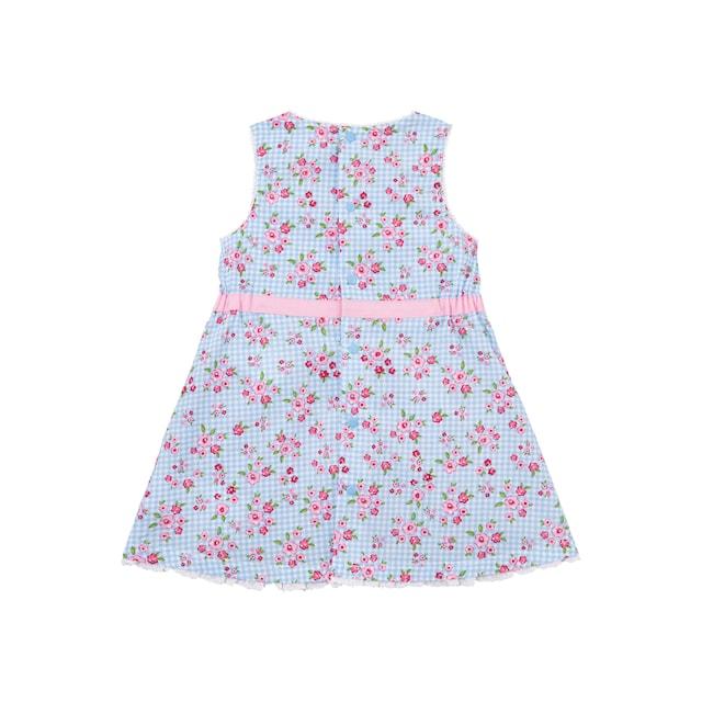 BONDI Trachtenkleid Kinder mit Gummizug seitlich